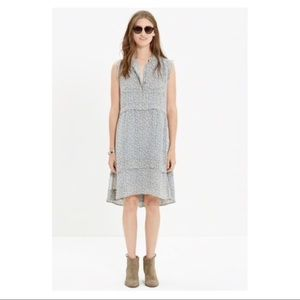 Madewell Shirtdress in Willowleaf